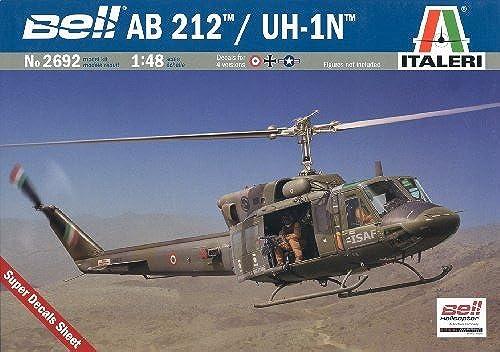 grandes ofertas Italeri - - - I2692 - Maquette - Aviation - AB 212  UH-1N - Echelle 1 48 by Italeri  precio al por mayor