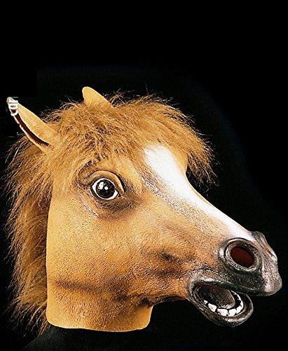 Masque de cheval - Adulte - Taille Unique - Halloween - Latex - 1087