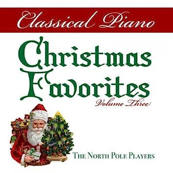 Classical Piano Christmas Favorites Volume Three