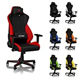 NITRO CONCEPTS S300 Gaming Chair - Inferno Red - Office Chair -...