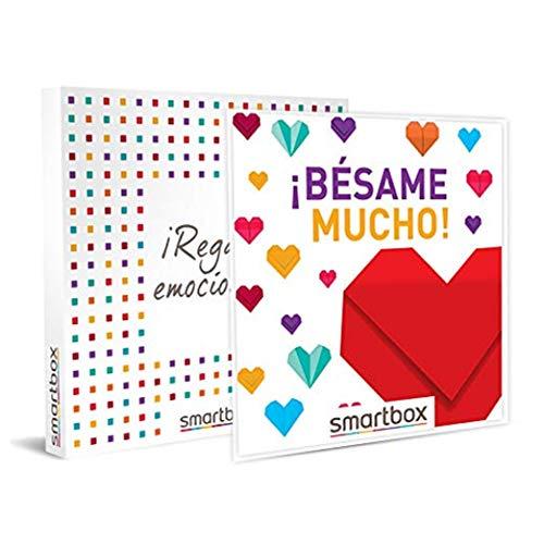 SMARTBOX - Caja Regalo - ¡Bésame Mucho! - Idea de Regalo - 1 Experiencia de Estancia, Bienestar, gastronomía o Aventura para 2 Personas