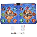 Alomejor Dance Mat Dancing Pad Dance Gaming Mat Dance Step Television Computer Dual Purpose Somatosensory Game Dancing Machine from Alomejor