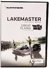 Humminbird LakeMaster Great Plains Edition Digital GPS Lake Maps, Micro SD Card, Version 6