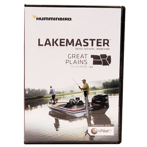 Best Deals! Humminbird LakeMaster Plus Great Plains Edition Digital GPS Lake and Aerial Maps, Micro ...
