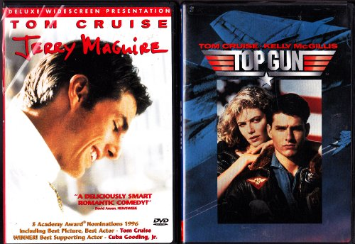 Jerry Maguire , Top Gun : Tom Cruise 2 Pack