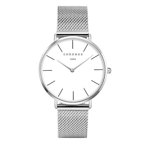 7a153f607 Fashion Classic Unisex Women Men Quartz Watch PU Leather/Alloy Strap  Analogue Ladies Gents Wrist