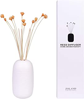 TIYOLE Reed Diffuser Sticks Stress Relief Sandalwood Diffuser Room Diffusers with Sticks