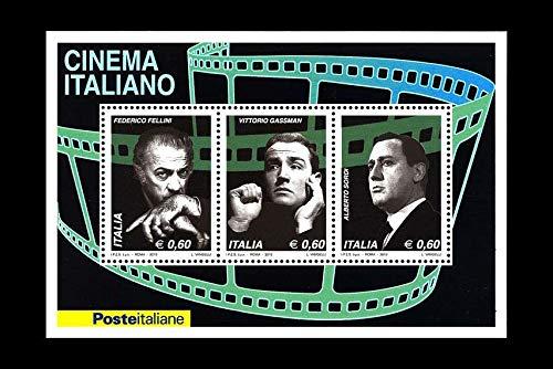 LaVecchiaScatola 2010 Italia Repubblica Cinema Italiano Foglietto MNH/**