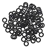 100pcs 1/4 Inch O-rings Specifically for Broadhead Replacement Rubber Bands Hunting Shooting Target
