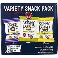 36-Pack SkinnyPop Popcorn Variety Snack Pack