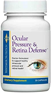 Dr. Whitaker's Ocular Pressure & Retina Defense Supplement to Support Healthy Intraocular Pressure Levels, ...