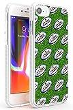 Ballon de Rugby Motif Impact Coque pour iPhone 7/8 / Se TPU Protecteur léger Phone Cover avec Sport Patterns WRU Cymru 6 Nations