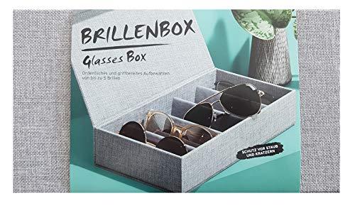 Tchibo TCM Brillenbox Brillenaufbewahrung Box Schachtel mit Deckel