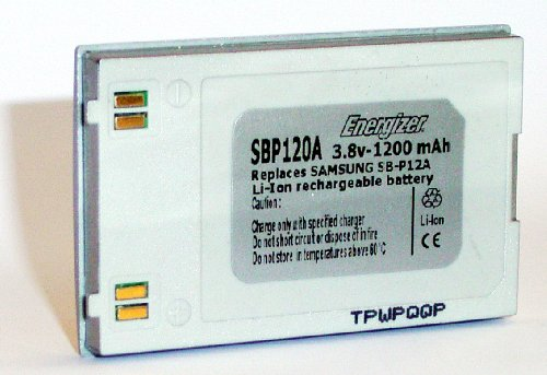 Energizer EZ-SBP120A digitale camera batterij (1200mAh)