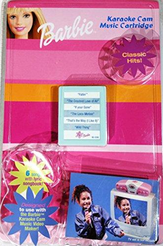 Barbie Karaoke Cam Cartuccia Musica - Classic Hits!