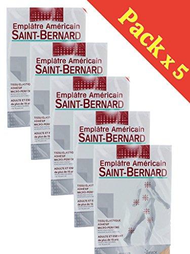 Merck San Bernardo cosmética Americana - Capsicum y Clavel - Comodidad y la relajación, Las Zonas sensibles - Lote 5 De Emplatres