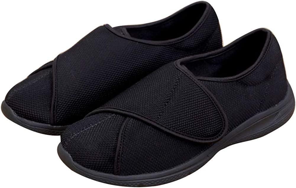 CHUANGLI Extra Wide Deep Shoes El Paso Mall Diabetic Slipper Adjustable Free shipping / New