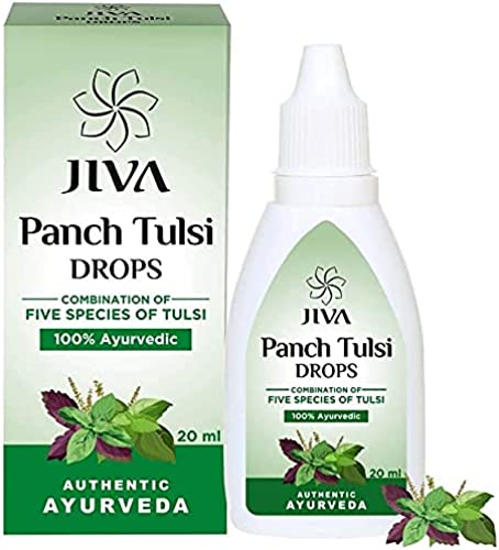 Jiva Panch Tulsi Drops Natural Immunity Booster for Good Health 20ML