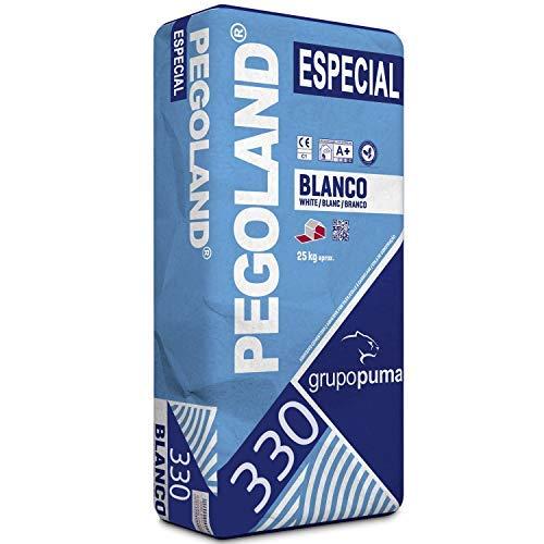 CEMENTO COLA PEGOLAND ESPECIAL C1 BLANCO SACO 25 KG