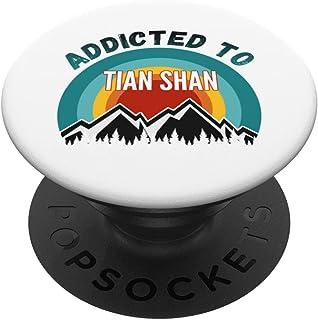 Addicté aux montagnes de Tian Shan PopSockets PopGrip Interchangeable