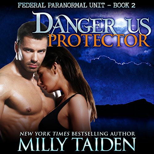 Dangerous Protector: BBW Paranormal Shape Shifter Romance audiobook cover art