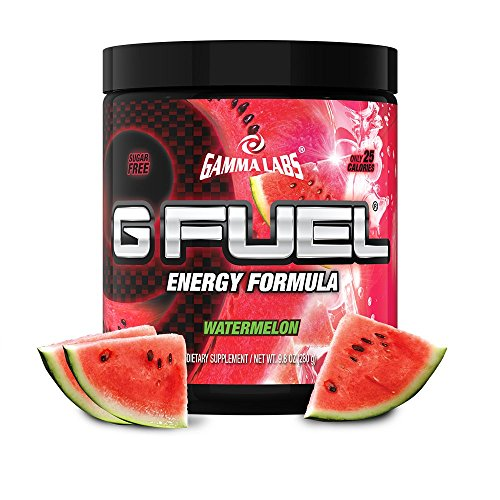 G Fuel Watermelon Tub (40 Servings) Elite Energy and Endurance Formula,net Weight 9.8 Ounce(280 Gram)