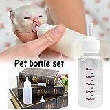 Tingtin 50 ml Recién Nacido Mascota pequeña Perro Cachorro Gato Gatito Conejo...
