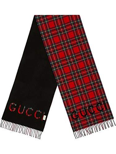 Gucci Luxury Fashion Herren 5975304G3651074 Rot Schal | Frühling Sommer 20