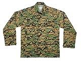Rothco Camo BDU (Battle Dress Uniform) Military Shirts, Woodland Digital Camo, M