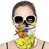 Feeling-Right Yamcha Dragon Ball Neck Polaina Cubiertas Transpirables a Prueba de...
