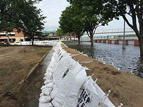 6' Ribs - Soil Filled Flood Barrier (6' Tall x 8' Wide x 50' Long)