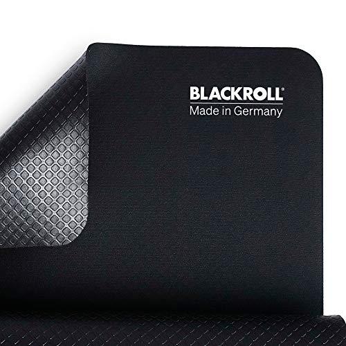 BLACKROLL MAT - Gedämpfte Gymnastik-Matte in schwarz, 65 cm x 185 cm