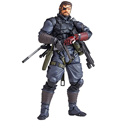 Metal Gear Solid V: The Phantom Pain - Venom Snake In Sneaking Suit Ver. Vulcanlog Action Figure (16Cm)