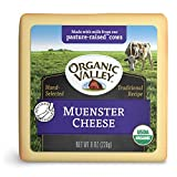 Organic Valley, Organic Muenster Cheese - 8 oz Block (Individually Wrapped)