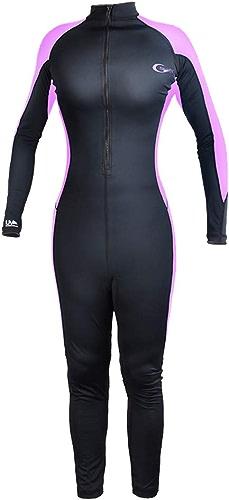 LYY Combinaison de plongée Chaude, Corps Encravater, Costume de plongée Chaud, vêteHommests de Surf, vêteHommests de Prougeection UV pour Enfants, Manches Longues, Prougeection UV Scratch - Femmes,rose,XXXL