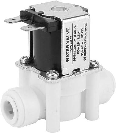 Machine /à Laver Hongzer Robinet deau /électrovanne /électrique dentr/ée en Plastique et en Laiton de 12V G1 // 2NC pour la Distribution de leau Irrigation par pulv/érisation de Jardin
