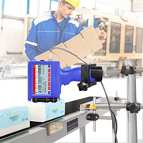 HAIT Impresora de Mano Portátil con Rtiquetas de Inyección de Tinta de Mano con Pantalla Táctil de 3,5 Pulgadas, Conector USB, Admite 17 Idiomas