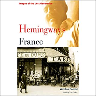 Hemingway's France audiobook cover art