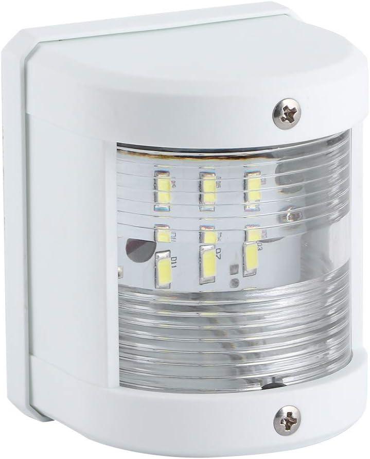 Luces de navegación para Barcos LED Marinas de 12V/24V 135 Grados Luz de señal de Barco Impermeable 5W IP66 Lámpara de mástil de navegación LED para Yates, Barcos de Pesca, cruceros