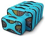Shacke Pak - 5 Set Medium/Small Packing Cubes - Travel Organizers...