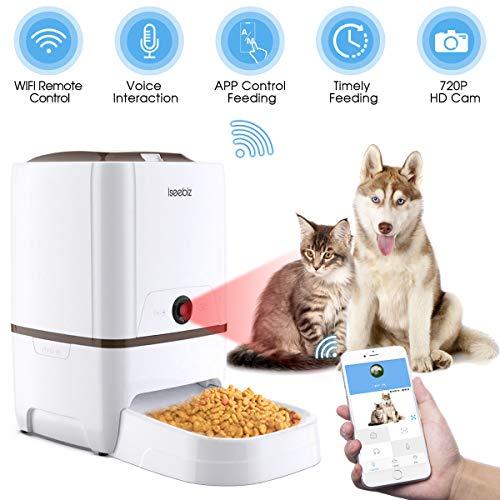distributeur croquettes pour chat connecté