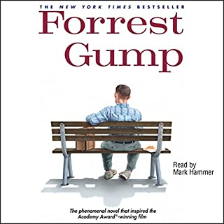 Forrest Gump audiobook cover art