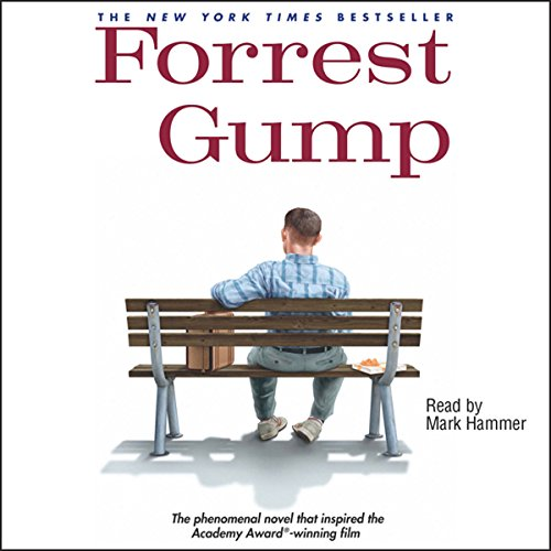 forrest gump audiobook audible com forrest gump cover art
