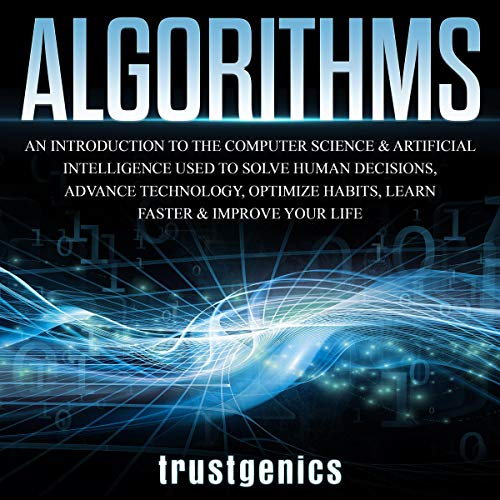 Algorithms audiobook cover art