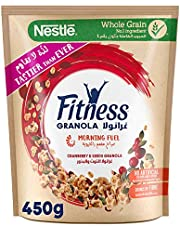 Nestle Fitness Granola Cranberry Cereal Bag 450g