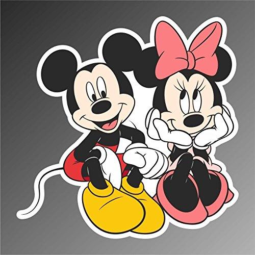 Autocollant Souris Mouse Minnie Mouse comics cartoon dessins animés sticker