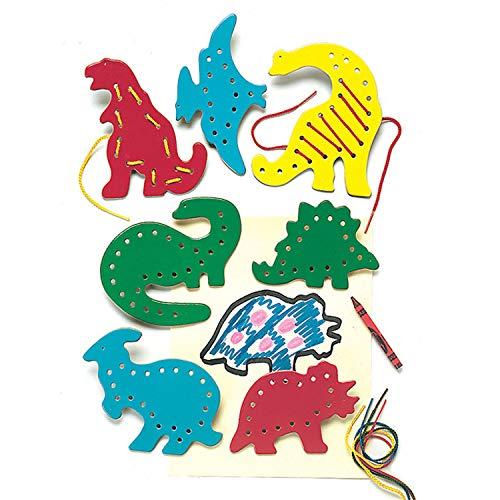 PlayMonster Lacing & Tracing - Dinosaurs