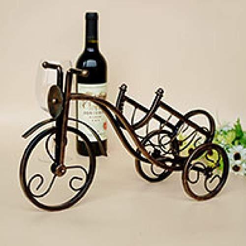 LIAOLEI10 Wijnrek Fiets Model Whisky Wijnrekken Wijnhouder Fiets Wijnrek Accessoires Romantisch Diner Wijnhouder