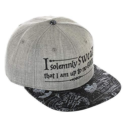 Bioworld Harry Potter Snap Back cap I Solemnly Swear Berretti Cappelli