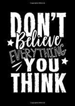 Notebook: Mindset Faith Think Positive Maverick Gift 120 Pages, A4 (About 8,5X11 Inches / Letter), Blank, Diary
